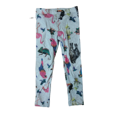 104-e szürke állatos leggings - Little Kids - ÚJ