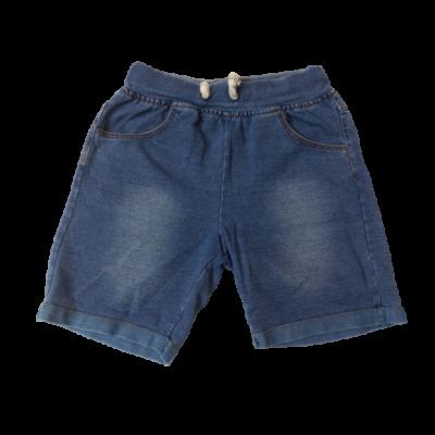 116-122-es kék puha lány farmer rövidnadrág - Taurus