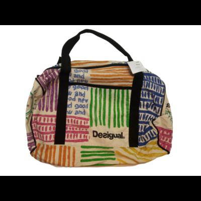 Színes vászon táska, sporttáska, utazótáska - Desigual