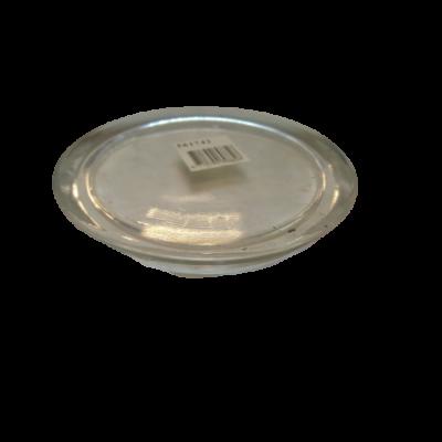 Gyertyatartó üveg tál, kör alakú - ÚJ