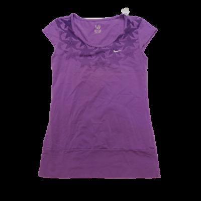 Női M-L lila póló - Nike
