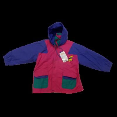 128-134-es lila-rózsaszín átmeneti kabát - ÚJ