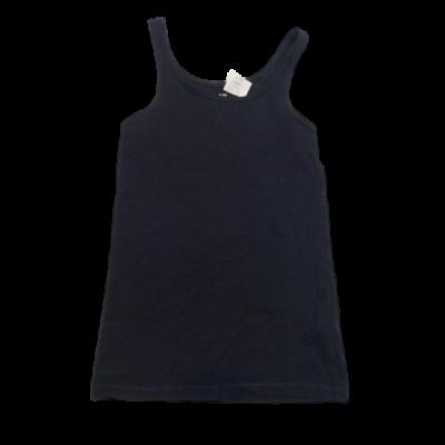 146-152-es kék ujjatlan lány póló - H&M