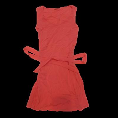 Női M-es korallszínű ujjatlan nyári ruha - Camaieu