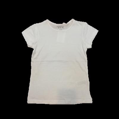128-as fehér lány póló - Y.F.K. - ÚJ