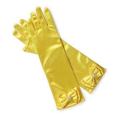 Sárga masnis hercegnő kesztyű - ÚJ