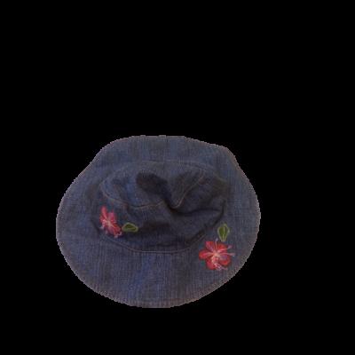 50cm-es fejre kék virágos farmerkalap - GAP
