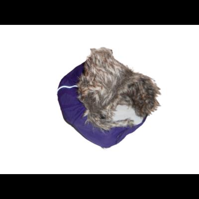 6-8 évesre lila szőrmés sapka - H&M