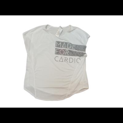 Női L-es fehér lezser póló - Decathlon - ÚJ