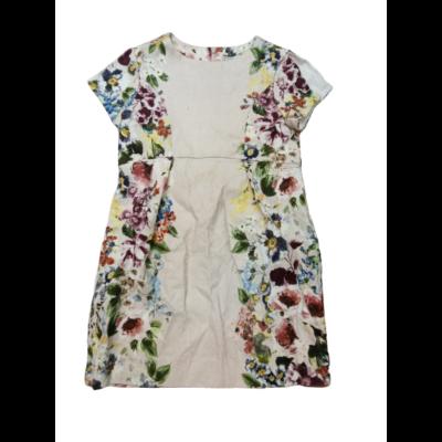122-es törtfehér virágos elegáns ruha - Zara