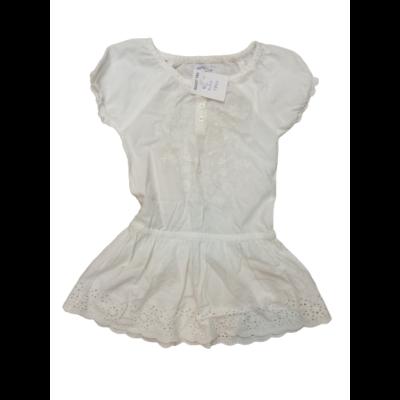 86-os fehér madeirás hímzett ruha - Early Days