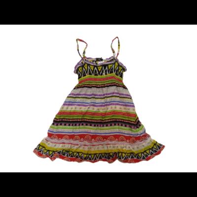 116-os színes pántos nyári ruha - ÚJ