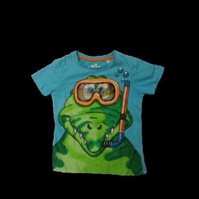 104-es kék krokodilos póló - C&A