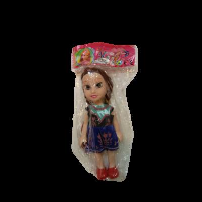 15 cm-es műanyag Anna baba - Frozen, Jégvarázs - ÚJ