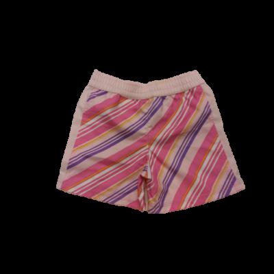 80-86-os rózsaszín csíkos ballonos anyagú short - Nike