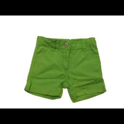 74-80-as zöld lány vászon short - Impidimpi
