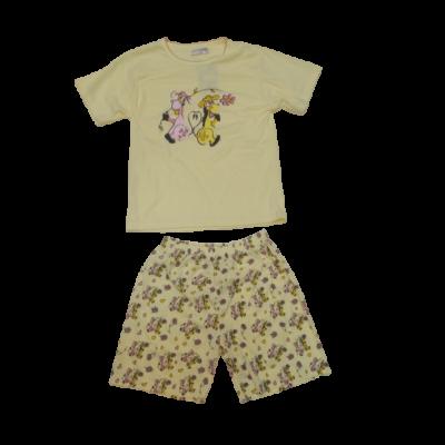 152-es sárga bocis pizsama - ÚJ