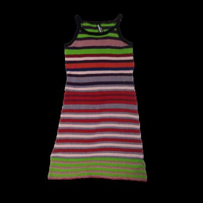 Női S-es színes csíkos kötött ruha - Desigual - ÚJ