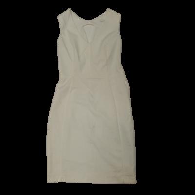 Női S-es fehér ujjatlan ruha - Reserved