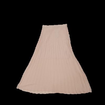 Női L-es rózsaszín hosszú rakott szoknya - Reserved - ÚJ