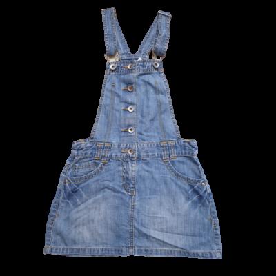 140-es kék kantáros farmer ruha - Marks & Spencer