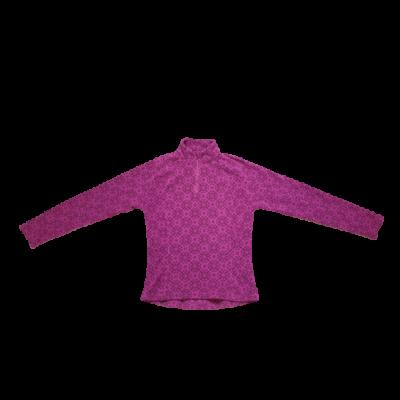 Női S-es rózsaszn virágos polár pulóver - Decathlon