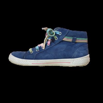 33-as kék magasszárú lány cipő - Superfit