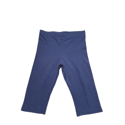 122-128-as sötétkék térdig érő leggings - TCM