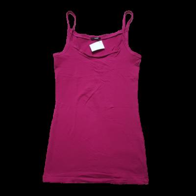 Női S-es pink pántos póló - Tezenis