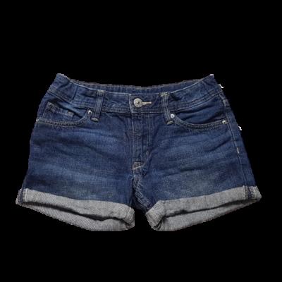 128-as kék lány farmer rövidnadrág - H&M