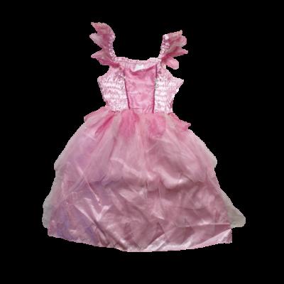 5-7 évesre rózsaszín tündér jelmezruha