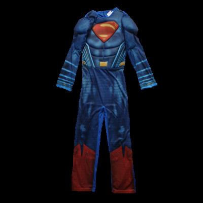 9-10 évesre kék izmosított jelmez - Superman