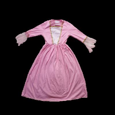 5-6 ávesre rózsaszín hercegnőruha, jelmez (szálhúzódásos)