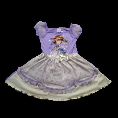 110-es lila tüllös ruha - Sofia Hercegnő - Disney