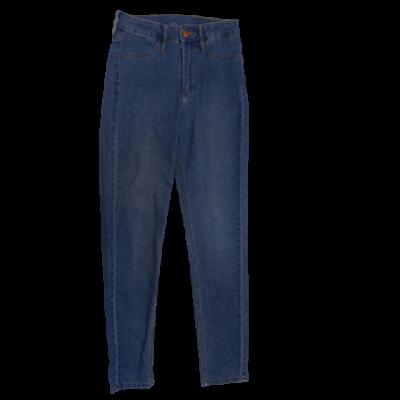 164-es kék lány farmernadrág - H&M