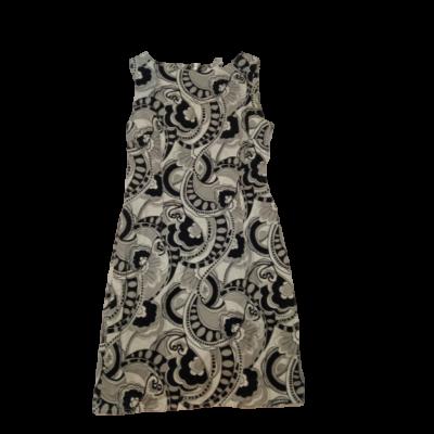 170-es szürke-fekete ujjatlan ruha - H&M