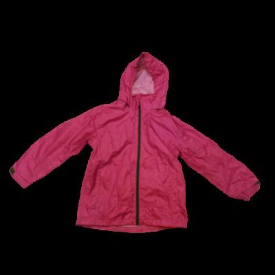 134-140-es rózsaszín átmeneti kabát