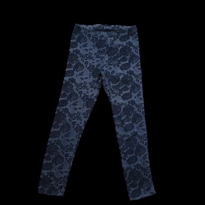 134-es kék virágos leggings - George