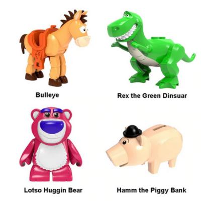 Toy Story nagyobb figurák, 4 db egyben - Építőjáték - ÚJ
