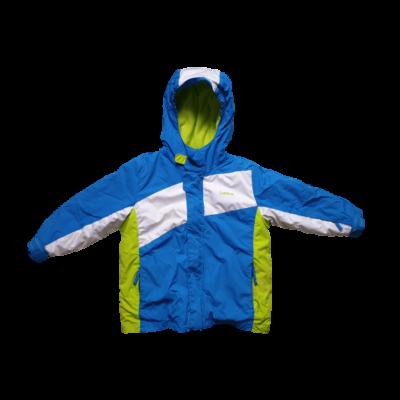 98-as kék-fehér fiú télikabát - Wedze