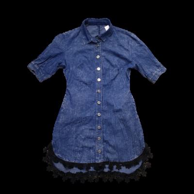 Női M-es kék farmerruha