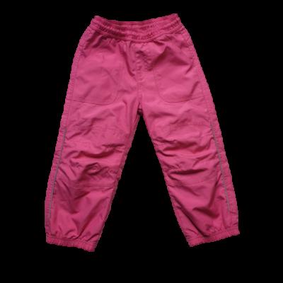 98-as rózsaszín pamut bélésű nadrág - ÚJ