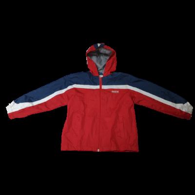128-as piros-kék pamuttal bélelt átmeneti kabát - X-Mail