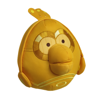 30 cm-es aranysárga C-3PO - Angry Birds