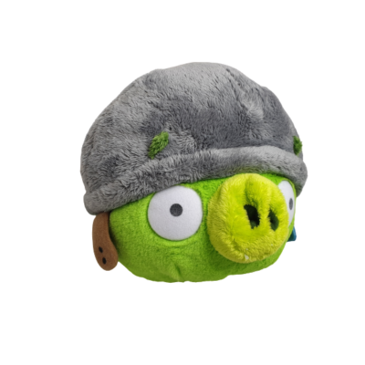 30 cm-es zöld plüss madár - Angry Birds