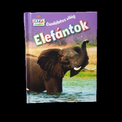 Csodálatos világ - Elefántok - kis könyv