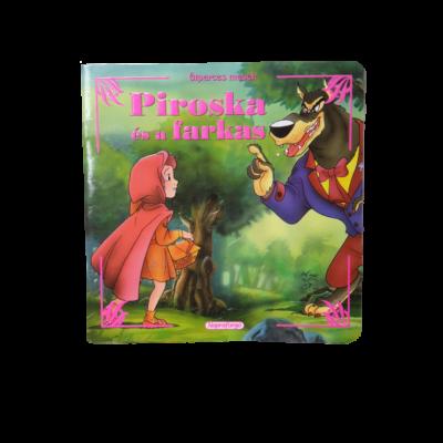 Piroska és a farkas - füzet alakú mesekönyv