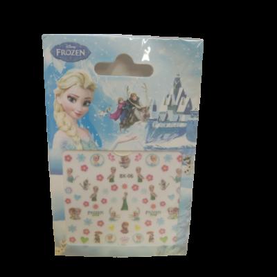 Körömmatrica kislányoknak - Frozen, Jégvarázs - ÚJ