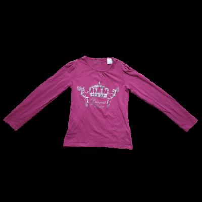146-os rózsaszín koronás pamutfelső - Tchibo