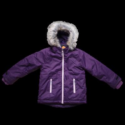 128-as lila kabát - H&M - ÚJ